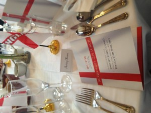Seo Go Website Design St. Georges day dinner.